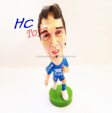 Plastic Football Player Toy Figure, PVC Action Figurine Model, Custom Sport Soccer Character