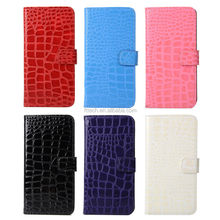 New Arrival Crocodile design leather Case For Samsung S6 edge plus Phone Case Protective Cover Case
