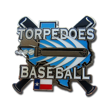 Special US design photo etched badge for baseball