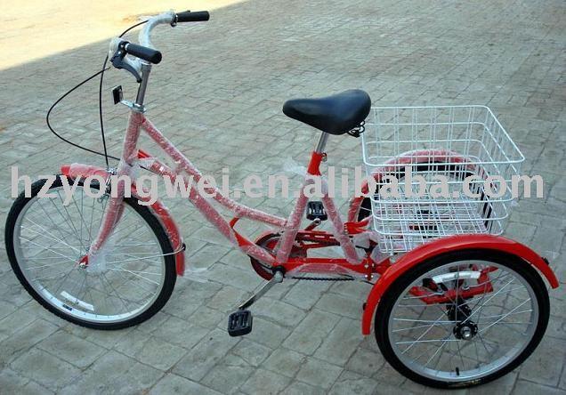 """24 """" triciclo, bicicleta de tres ruedas"""