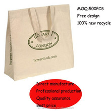 2015 customized promotional eco cotton bag