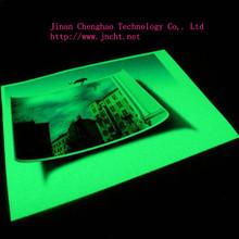 self-glowing luminous paper for printing