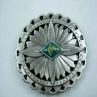 art and craft men metal belt buckle back, round belt buckle