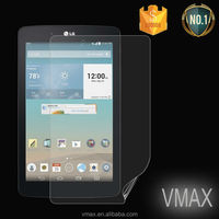 Cheap smart phone accessory high clear screen protector for LG E8 Tablet protective film
