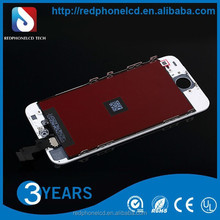 mobile phone accessories factory in china for iphone 5s lcd screen assembly