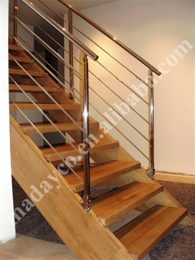 Prefabricated exterior metal stairs for Manufactured stairs