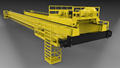 Techo diseño de almacenes de puente grúa sistema de 5 t, 10 t, 15 t, 25 t