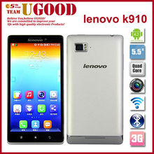 lenovo vibe z k910 cell phone 5.5'' IPS Quad core Snadragon 800 2GB RAM Dual SIM mobile phone