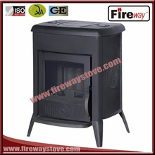 120mm Flue connection Freestanding cast iron wood burning stove