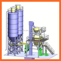 2014 China turnkey solution new product full atuomatic dry mortar mixing and bagging line supplier