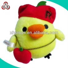 Super Cute Plush Yellow Chicken Toys For Promotional