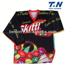 promotion sportswear ice hockey top manufacturer
