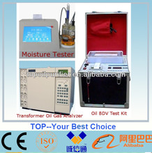 High accuracy petroleum products testing machine for analysis moisture content, gas content, BDV , acid, IFT, TBN, viscosity