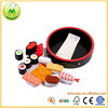 Japanese Play Food Set Sushi Box Pretend Wooden Kitchen Toy