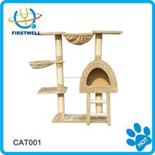 Outdoor cat tree house & cat tree sisal scratcher furniture/cat toy /cat furniture