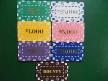 new Rectangular Chips model,hot stamping value rectangular poker chip