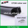 Tractor/truck rubber extruded Car rubber seal