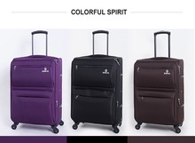 durable new arrival trolley luggage bag
