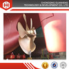 fixed pitch marine ship propeller