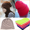 Wholesale Custom 100% Cotton Slouch Beanie Hat