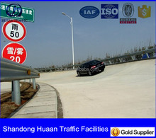 Traffic barrier,highway Guardrail, Alibaba Trade Assurance gold supplier, with ISO Certificate