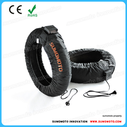 Sumomoto Superbike Pro Racing Tyre Warmer 200/130 mm, digital C6