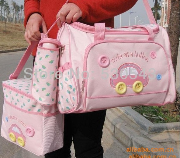 Картеры пеленки сумки для ребенка / младенца подгузник беременных сумки мать мумия Hobos прочный женщины мокрый мешок