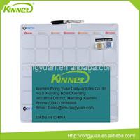High quality top level promotion fridge magnet whiteboard