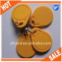 2014 Hot Sale Contactless TK4100 ABS Blank Key Fobs