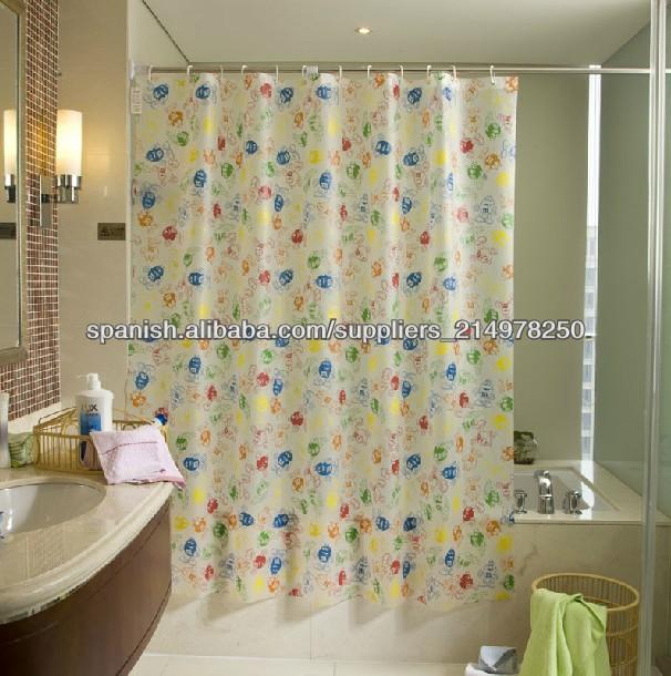 Origen De La Regadera De Baño:de la ducha/peva cortina de baño/sala de ducha cortinas-Cortina de