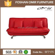 Designer Premier Dark Brown Leather Sofa Bed
