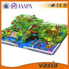 Funny Indoor Zoo theme jungle gym play, Animal style indoor playground