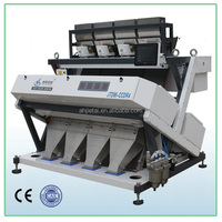 256 Channels Double Side Camera Rice Color Sorter Machine From China