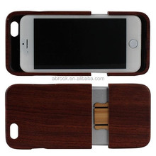 Natural handmade wooden cell phone case for iphone 6 plus