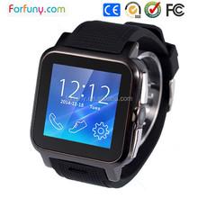 Fashion Waterproof 2G SIM Card Wearable Smart Watch Mobile Phone/Digital Bluetooth Watch