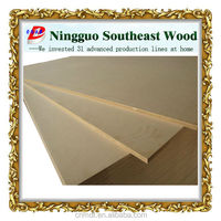 mass production of plain density boards from China Southeast wood factory