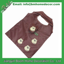 190T Polyester Reusable Monkey Shaped Foldable Bag / Monkey Folding Shopping Bag / Monkey Foldable Bag
