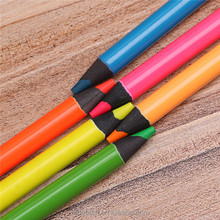 Easy colored fluorescent color pencils for drawing