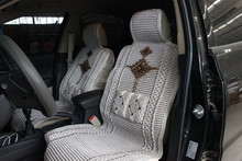 china traditional culture ice silk funny car seat covers design cute