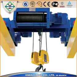 material handling trolleys/crane trolley with electric hoist