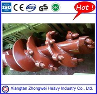 For Rock Formation Double Cut Double Flight Conical Drilling Auger