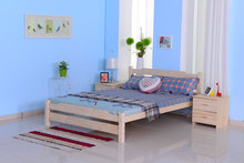 wood double bed designs with box/wonderful bedroom furniture