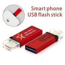 Top designed usb flash drive for smart phone, Otg USB 3.0, bulk 2gb 4gb 8gb usb memory stick with free sample.