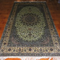 5x8ft Wholesale price form BOSI CARPET FACTORY silk hand knotted carpet