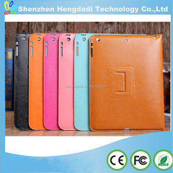 Ultralight Retro PU Leather Case for iPad Air 2 9.7'' Auto Sleep Smart Cover for Apple iPad Air II for iPad 6 Flip Cover Stand