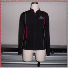 Classic design skating team jackets, ladies blazer