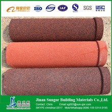 Hot Dipped Galvanized Steel colorful corrugated stone coated metal roof tile