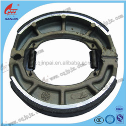 Best quality GS125 GN125 150cc rear motorcycle brake shoe scooter ATV