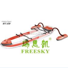 Plástico transparente kayak / fazer na china vela kayak / resistência ao impacto pesca de caiaque uso fora