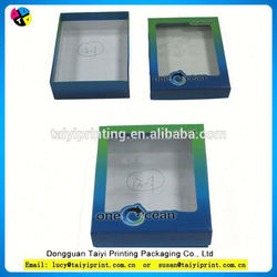Customized printed new design paper gift box for wallet
